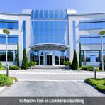 Reflective Film on Commercial Building